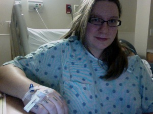 on hospital bed rest, just chilling out & waiting for daddy's little 2012 tax break.